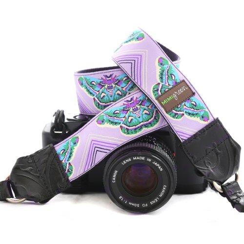 Mimi Green 'Naomi' Designer DSLR Camera Strap