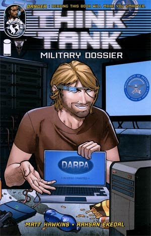 Think Tank Military Dossier #1 Comic Book