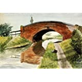 Bridge over Canal, near Litchfield, by Barbara Jones (V&A Custom Print)