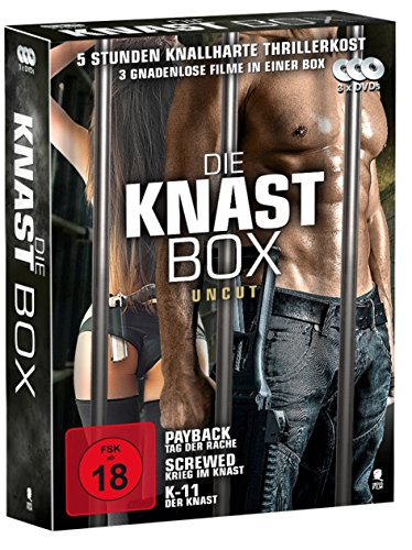 Knast Box - Set mit 3 DVDs: Payback, Screwed, K-11