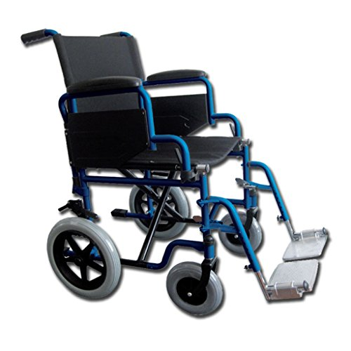 Sedia a rotelle - carrozzina essex - 51 cm