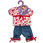 Butterflies™ Floral Shirt Doll Outfit