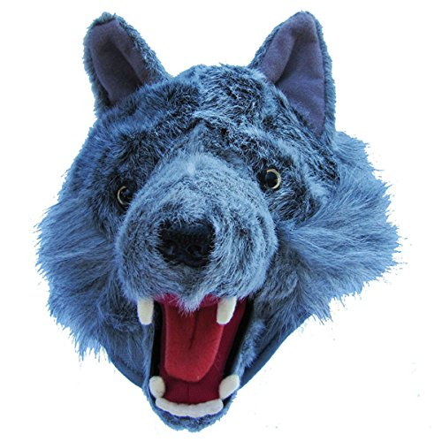 Grey Wolf Costume Fur