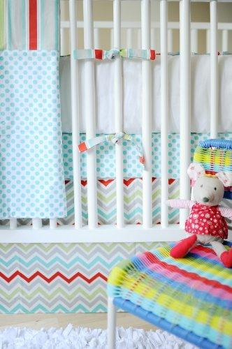 New Arrivals Jellybean Parade 3 Piece Crib Set