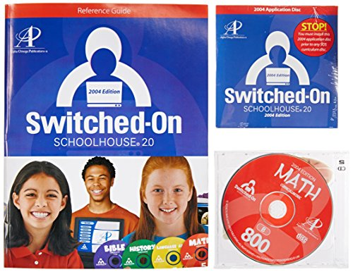 switched on schoolhouse 9th grade 5 subject w/2013 installation disk