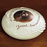 Abbey Press Whispering Wings Friend Tealight Holder - New Inspirational Occasion Gift 55663HMK-ABBEY