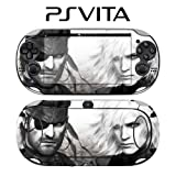 Metal Gear Solid Decorative Video Game Decal Cover Skin Protector for Sony PlayStation PS Vita