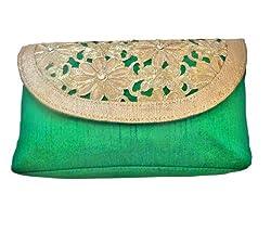 Bhamini Clutch (Green) (S121031412GR)
