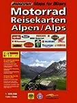 RV Motorrad-Reisekarten 1:300 000 Alpen