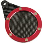 RYDE CARBON/RED TAX DISC HOLDER ANTI...
