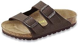 Birkenstock Unisex Arizona Sandal,Mocha Birkibuc,38 N EU