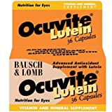 Bausch & Lomb Ocuvite Lutein Eye Vitamins For Macular Degeneration 36 Capsules