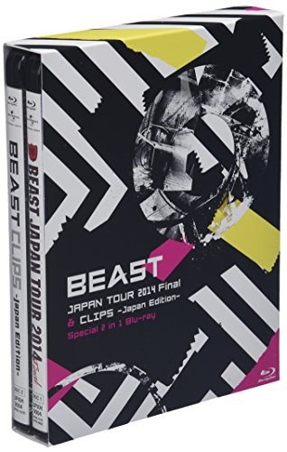 BEAST JAPAN TOUR 2014 & CLIPS -Japan Edition- Special 2 in 1 Blu-ray