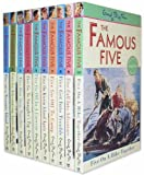Enid Blyton FAMOUS FIVE 10 Books Box Set PackRRP £49.90 (Treasure Island, Five Go Adventuring Again, Five Run Away Together, Five Go to Smuggler's Top, Five Go Off in A Caravan, Five On Kirrin Island Again, Five Go Off to Camp, Five Get Into Trouble) (En