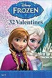 Paper Magic 32CT Showcase Frozen Kids Classroom Valentine Exchange Cards