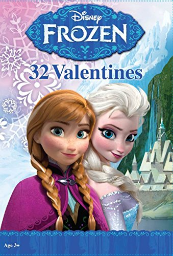 Paper Magic 32CT Showcase Frozen Kids Classroom Valentine Exchange Cards - 1