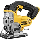 DEWALT DCS331B 20-Volt MAX Li-Ion Jig Saw  (Tool Only), Yellow (Color: Yellow)