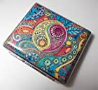 Hippie Art Cigarette Case Wallet Card Holder