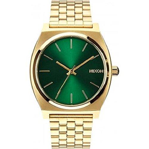 Nixon - Time Teller Orologio da polso acciaio INOX
