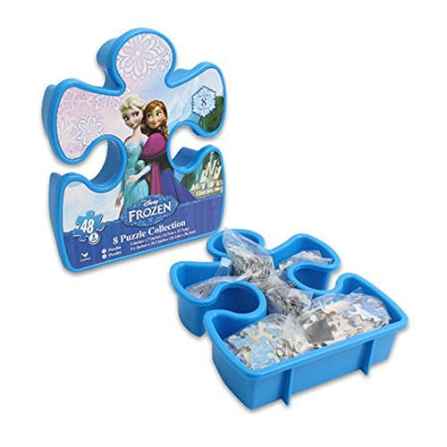 Disney Frozen 8 Puzzle Collection (Includes 8 Puzzles!!!)