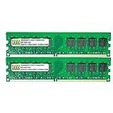 4GB (2 X 2GB) DDR3 1333MHz PC3-10600 240-pin Memory RAM DIMM for Desktop PC