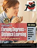 img - for Bears Guide to Earning Degrees by Distance Learning book / textbook / text book