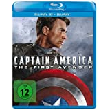 Captain America: The First Avenger + Blu-ray 2D - Blu-ray 3D