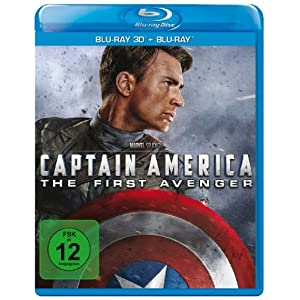 Captain America - the First Avenger - 3d+2d [Blu-ray] [Import allemand]