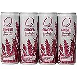 Q-Ginger Soda, 12 Ounce (Pack of 12)