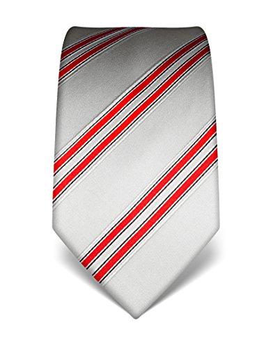 vincenzo-boretti-corbata-seda-plateado-rojo-unica