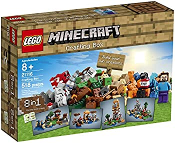 LEGO Minecraft Adventures Crafting Box
