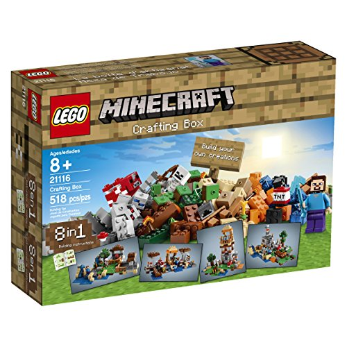 LEGO-Minecraft-21116-Crafting-Box