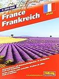 Frankreich Strassenatlas: 1:200 000, Strassenkarten mit Sehenswürdigkeiten, Stadtpläne, Paris und Umgebung