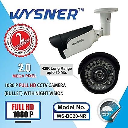 Wysner-WS-BC20-NR-2MP-Bullet-CCTV-Camera