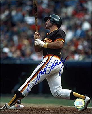"Steve Garvey San Diego Padres Autographed 8"" x 10"" Swinging Bat Photograph - Fanatics Authentic Certified"