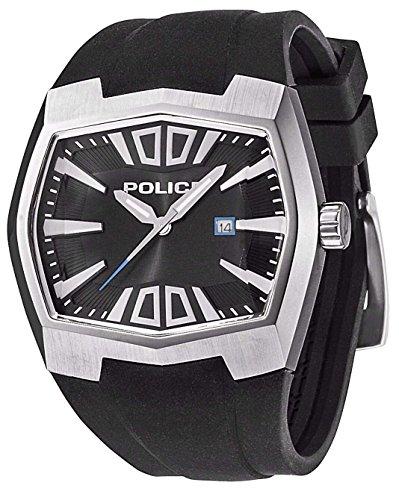 Police - Orologio da polso, analogico al quarzo, silicone