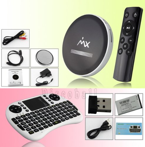 New XBMC Dual Core 4.2 Android Smart TV Box WITH I8 KEYBOARDCool Remote UK Black Friday & Cyber Monday 2014