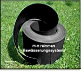 Lawn Edging Black 1mm thick 10m length 12cm depth for Driveways, Gravel, Flowerbeds, Paths, Borders. 100% Recycled plastic and easy to use. Safe for children and pets. Pest control.by Best4garden