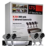 5100%2BXTCxKL. SL160 LTS LTD04HTSK 4 Camera H.264 Realtime DVR Security System with 320GB, Mobile Phone Live View, VGA output