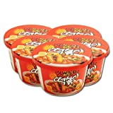 Instant Cup Spicy Korean Tteokbokki 5 Pack of 5.6 oz