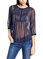 Pepe Jeans London Blusa Brit (Azul Oscuro)