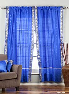 Tab Top Curtains Amazon Steel Blue Sheer Curtains