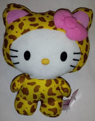 Large-10-Inch-Leopard-Hello-Kitty-Big-Top-Circus-Animal-Plush-Doll