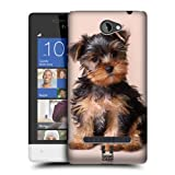 Head Case Designs Yorkshire Terrier Puppy Popular Dog Breeds Protective Snap-on Hard Back Case Cover for HTC Windows Phone 8S