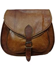 Pranjals House Genuine Leather Brown Sling Shoulder Bag /side Bag For Girls For Women