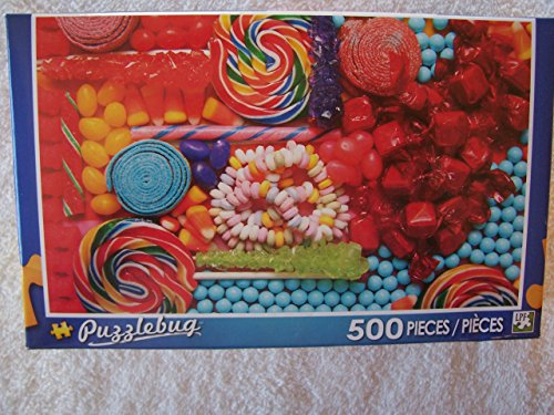 Puzzlebug 500 Piece Puzzle ~ Candy Mix