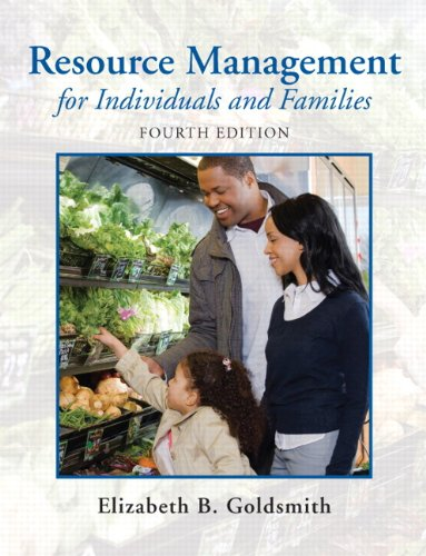 Resource Management for Individuals and Families (4th...