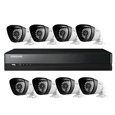 Samsung SDS-P5082 16 Channel DVR Security System (White)