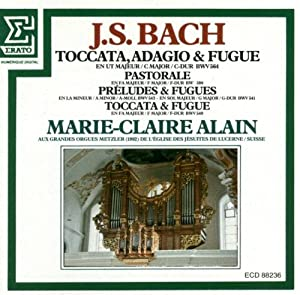 J. S. Bach: Toccata, Adagio, & Fugue (Audio CD)
