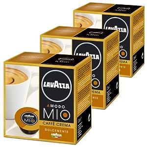 Shop for Lavazza A Modo Mio Caffè Crema Lungo Dolcemente, Pack of 3, 3 x 16 Capsules - Luigi Lavazza S.p.A.